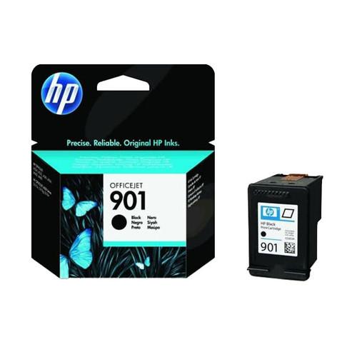 Tintenpatrone 901 für HP OfficeJet J4524 4ml schwarz HP CC653AE Produktbild Front View L