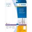 Rückenschilder zum Bedrucken 61x297mm lang breit auf A4 Bögen weiß selbstklebend Herma 5135 (PACK=75 STÜCK) Produktbild Additional View 1 S