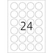 Etiketten Inkjet+Laser+Kopier Ø 40mm auf A4 Bögen Movables weiß wiederablösbar Herma 5066 (PACK=600 STÜCK) Produktbild Additional View 2 S