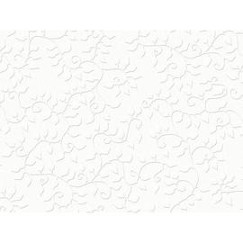 Bastelkarton Firenze geprägt 50x70cm 220g weiß Heyda 20-4772295 Produktbild