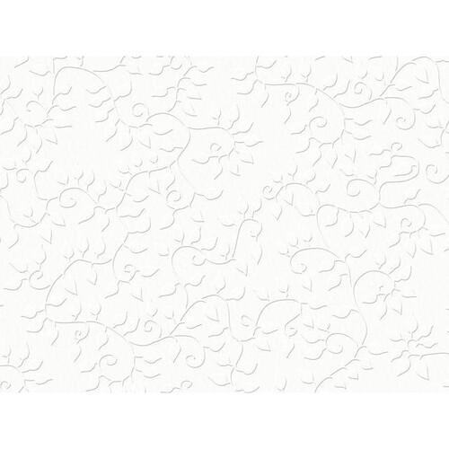 Bastelkarton Firenze geprägt 50x70cm 220g weiß Heyda 20-4772295 Produktbild Front View L