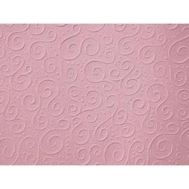 Bastelkarton Milano geprägt 50x70cm 220g rosa Heyda 20-4772266 Produktbild
