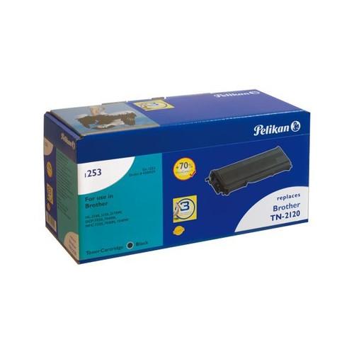 Toner Gr. 1253HC (TN-2120) für DCP-7030/HL-2140/MFC-7320 2600Seiten schwarz Pelikan 4200129 Produktbild Front View L
