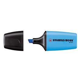 Textmarker Boss 07 Mini 2-5mm Keilspitze blau Stabilo 07/31 Produktbild