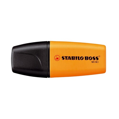 Textmarker Boss 07 Mini 2-5mm Keilspitze orange Stabilo 07/54 Produktbild Additional View 1 L