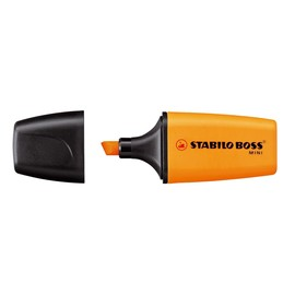Textmarker Boss 07 Mini 2-5mm Keilspitze orange Stabilo 07/54 Produktbild