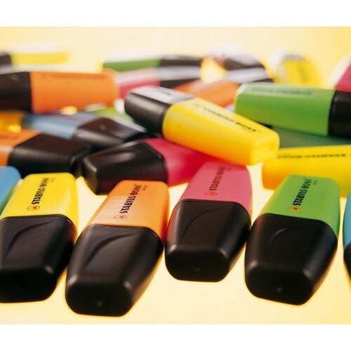 Textmarker Boss 07 Mini 2-5mm Keilspitze orange Stabilo 07/54 Produktbild Additional View 5 L