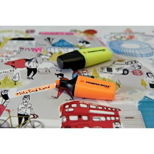Textmarker Boss 07 Mini 2-5mm Keilspitze orange Stabilo 07/54 Produktbild Additional View 8 L