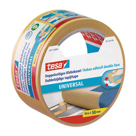 Klebeband Doppelseitig Universal 50mm x 10m transparent Tesa 56171-00003-11 (RLL=10 METER) Produktbild