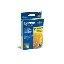 Tintenpatrone für DCP-185C/MFC-490CW 7ml yellow Brother LC-1100Y Produktbild