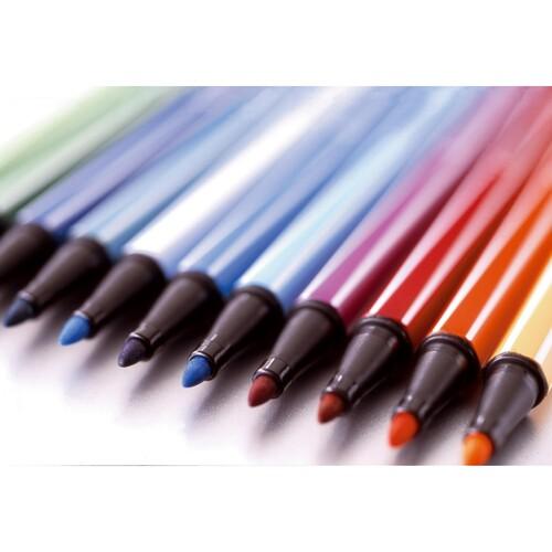Fasermaler Pen 68 1mm Rundspitze blaugrün Stabilo 68/53 Produktbild Additional View 8 L