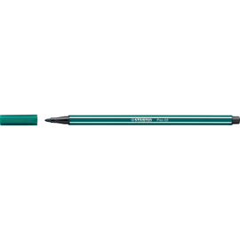 Fasermaler Pen 68 1mm Rundspitze blaugrün Stabilo 68/53 Produktbild