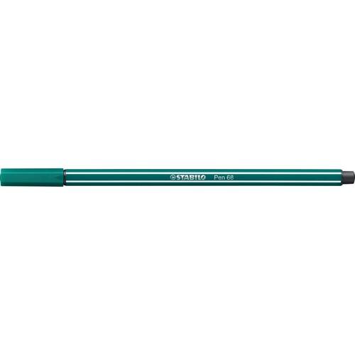 Fasermaler Pen 68 1mm Rundspitze blaugrün Stabilo 68/53 Produktbild Additional View 1 L