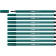 Fasermaler Pen 68 1mm Rundspitze blaugrün Stabilo 68/53 Produktbild Additional View 3 S