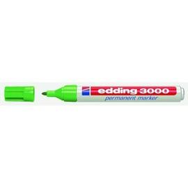 Permanentmarker 3000 1,5-3mm Rundspitze hellgrün Edding 4-3000011 Produktbild