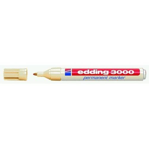 Permanentmarker 3000 1,5-3mm Rundspitze hellorange Edding 4-3000016 Produktbild
