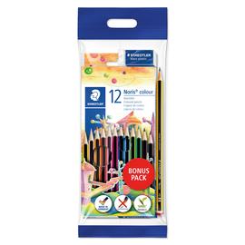 Farbstifte Noris Club dreikant Promotionset sortiert Staedtler 61SET6 (ETUI=12 STÜCK) Produktbild