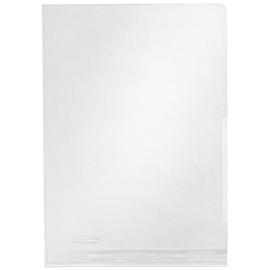 Sichthülle Maxi oben + rechts offen A5 ohne Sichtfenster 200µ farblos PVC genarbt Leitz 4055-00-00 Produktbild