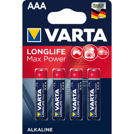 Batterien Max Tech Micro AAA 1,5V 1200mAh Varta 4703 (PACK=4 STÜCK) Produktbild