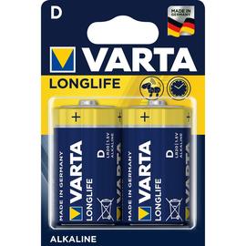 Batterien Longlife Extra Mono D 1,5V 8000mAh Varta 4120 (PACK=2 STÜCK) Produktbild