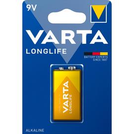 Batterie Longlife Extra E-Block 9V 420mAh Varta 4122 Produktbild