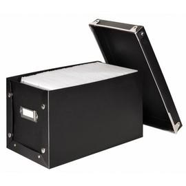 Media-Box 140 für 140 CDs/DVDs/Blue-Rays schwarz Hama 00078377 Produktbild