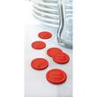 """Wertmarken """"Pfand"""" Druck mit Motiv+P ø 25mm rot Kunststoff Sigel WM008 (PACK=100 STÜCK) Produktbild Additional View 3 S"""