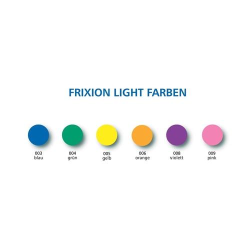Textmarker mit Radierspitze Frixion Light II SW-FR 3,8mm gelb Pilot 4136005 Produktbild Additional View 3 L