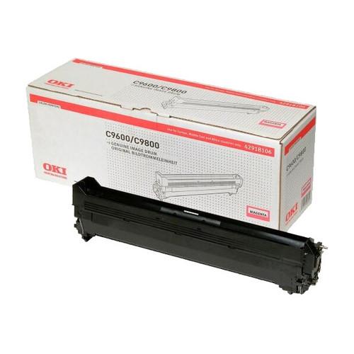 Trommel für C9600/C9650/C9800/C9850 30000Seiten magenta OKI 42918106 Produktbild Front View L