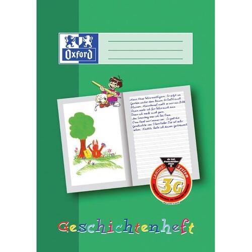 Geschichtenheft Oxford A4 Lineatur 3G 16Blatt 90g Optik Paper 100050093 Produktbild Additional View 1 L