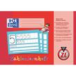 Zahlenlernheft Oxford A4 quer Lineatur ZL 16Blatt 90g Optik Paper 100050304 Produktbild Additional View 1 S