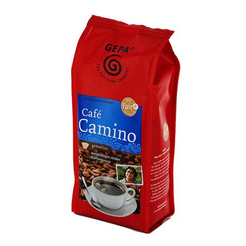 Kaffee Bio Cafe Camino gemahlen mild GEPA 8910906 (PACK=250 GRAMM) Produktbild Front View L