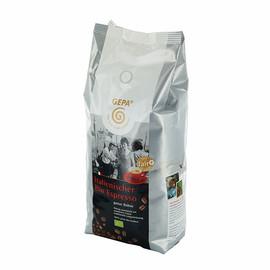 Kaffee Bio Espresso ganze Bohnen kräftig GEPA 8910972 (PACK=1 KILOGRAMM) Produktbild