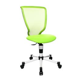 Kinder-Drehstuhl Titan Junior silber/grün Topstar 71487S05 Produktbild