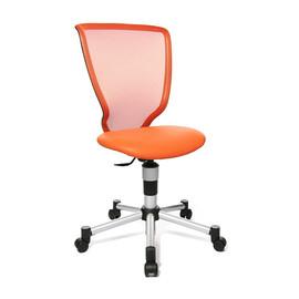 Kinder-Drehstuhl Titan Junior silber/orange Topstar 71487S14 Produktbild
