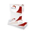 Klapp-Visitenkarten Inket+Laser+Kopier 85x55mm 225g weiß beidseitig bedruckbar Sigel LP838 (PACK=50 STÜCK) Produktbild Additional View 6 S