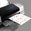 Klapp-Visitenkarten Inket+Laser+Kopier 85x55mm 225g weiß beidseitig bedruckbar Sigel LP838 (PACK=50 STÜCK) Produktbild Additional View 1 S