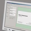 Klapp-Visitenkarten Inket+Laser+Kopier 85x55mm 225g weiß beidseitig bedruckbar Sigel LP838 (PACK=50 STÜCK) Produktbild Additional View 3 S