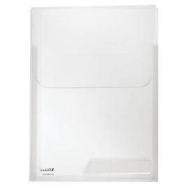 Prospekthüllen Combifile Maxi A4 180µ farblos PP genarbt Leitz 4731-00-02 (PACK=3 STÜCK) Produktbild