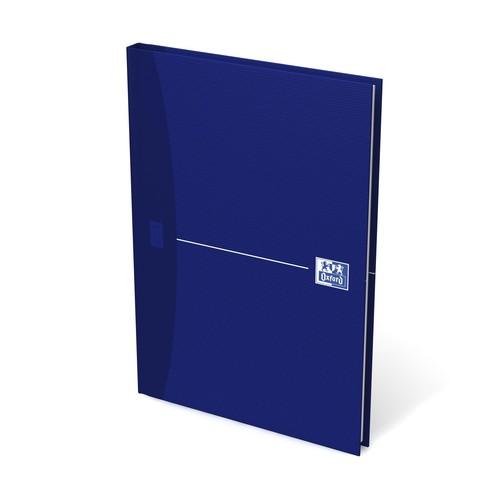 Gebundenes Buch Oxford Original Blue A5 kariert 96Blatt 90g Optik Paper weiß 100101749 Produktbild