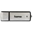 USB Stick Flash Pen 2.0 Fancy 16GB 10MB/s schwarz-silber Hama 00090894 Produktbild Additional View 1 S