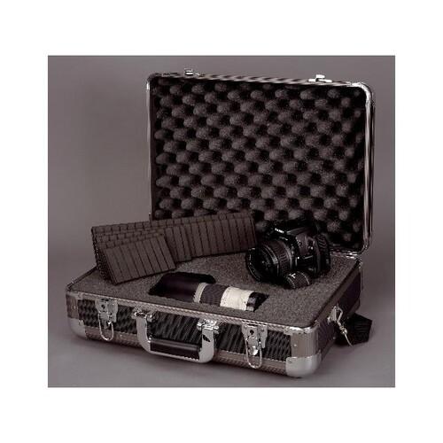 Multifunktionskoffer EXPLORER 46x33x16cm schwarz Aluminium Alumaxx 45132 Produktbild Front View L