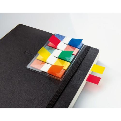 Haftmarker Z-Marker Film Color-Tip 12x43mm 5 Grundfarben transparent Sigel HN475 (PACK=130 BLATT) Produktbild Additional View 3 L