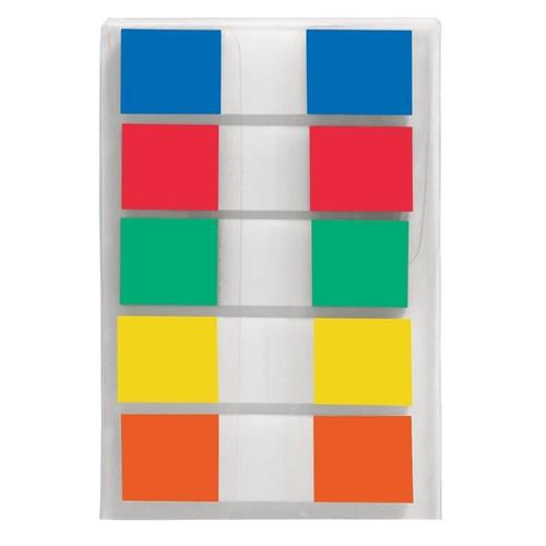 Haftmarker Z-Marker Film Color-Tip 12x43mm 5 Grundfarben transparent Sigel HN475 (PACK=130 BLATT) Produktbild Additional View 1 L