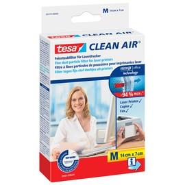Feinstaubfilter Clean Air 14x7cm M farblos für Laserdrucker Tesa 50379 Produktbild