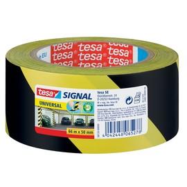 Markierungs-Klebeband Universal 50mm x 66m gelb/schwarz PP Tesa 58133-00000-00 Produktbild