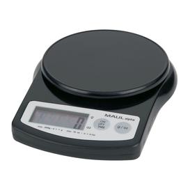 Briefwaage MAULalpha bis 2000g 1g-Teilung schwarz Batteriebetrieb Maul 16420-90 Produktbild