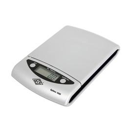 Briefwaage OPTIMO 1000 bis 1000g 0,5g-Teilung silber Batteriebetrieb WEDO 481154 Produktbild