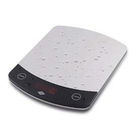 Briefwaage PROFI-STEEL bis 10kg 1g-Teilung silber Batteriebetrieb WEDO 48100054 Produktbild