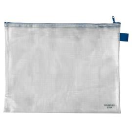 Reißverschlusstasche 355x270mm gewebeverstärkte PVC-Folie Veloflex 2704000 Produktbild